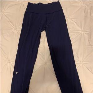Lululemon Navy Blue Straight Leg Align Pant